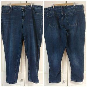 Lane Bryant jeans low rise boyfriend size 24 3X
